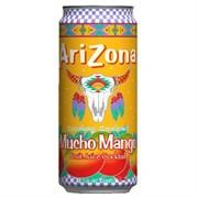 Чайный напиток Аризона Мучо Манго 0,34*30 ж/б