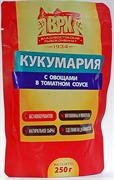 ВРК Кукумария с овощами в томатном соусе 250 г*20