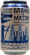 Волковская Пивоварня Бланш Де Мазай 0,33*24 ж/б