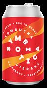 Аф Брю Симбиотика Комбуча Малина & Маракуйя 0,33*20 ж/б