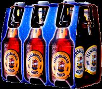 6-pack Фленсбургер Голд 0,33*6 с/б