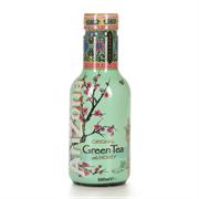 Чайный напиток Аризона зеленый со вкусом женьшеня и медом 0.5*6 ПЭТ